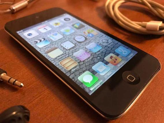 iPod 4ª Geração 8 Gb Apple C/ Fone E Carregador Raro