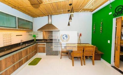 Casa Com 3 Dormitórios À Venda, 80 M² Por R$ 680.000,00 - Parque São Quirino - Campinas/sp - Ca0691