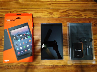 Tablet Amazon Fire Hd 10 32gb Fullhd Dobly + Funda Nueva!