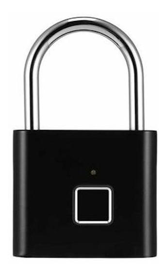 Cadeado Impressão Digital Abertura E Fechamento Biométrico