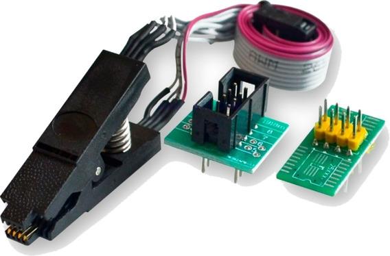 Pinza Soic8 Con Cable P/ Ch341a Rt809f Y Mas Programadores