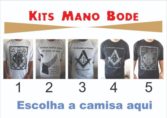 Kit Camisa E Boné Maçom Maçonaria Demolay