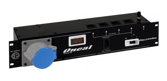 Regua Ac Oneal Oac-105dm Painel Energia Digital 4+1 Tomadas