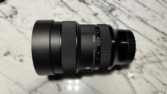 Lente Sony-sigma 14-24mm F/2.8 Full Frame