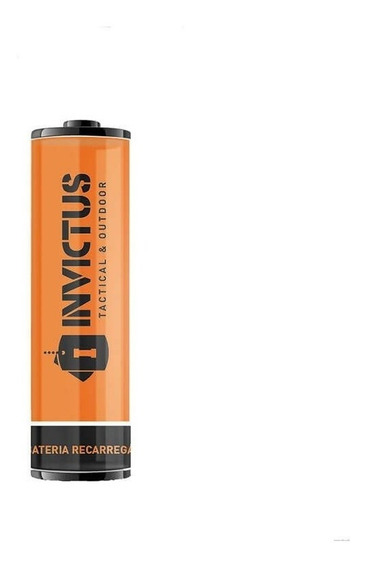 Bateria Recarregável 14500 Invictus (2 Unidades) Original