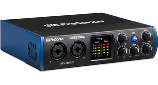 Placa Audio Presonus Studio 24c 2x2 192 Khz Usb-c Audio Pl ®