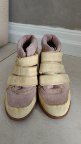 Sneaker Com Salto Jorge Alex, Tamanho 35.