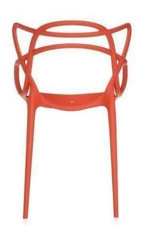 Silla De Plástico Masters Diseño Contemporáneo 100% Original
