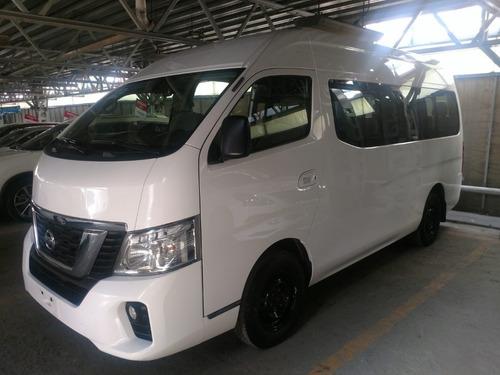 Imagen 1 de 14 de Nissan Urvan 15 Pasajeros 2019 Paq Seguridad
