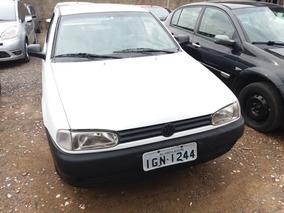 Volkswagen Gol 1.0 Mi 16v Gasolina 2p Manual 1997 Branca