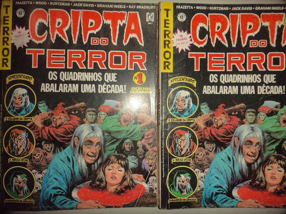 Cripta Do Terror 1 Editora Record 1991 Otima Frete Gratis