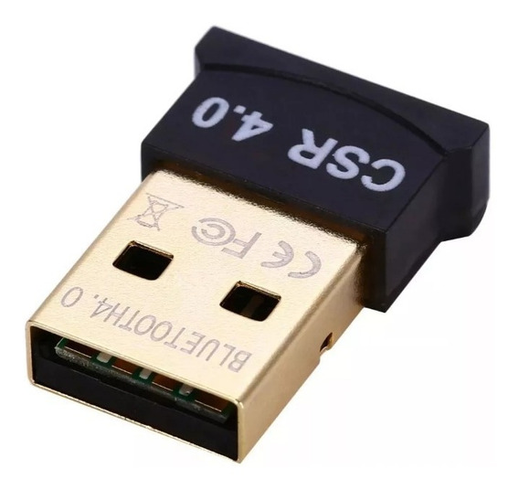 Adaptador Bluetooth Usb 4.0 Para Pc Windows 8 10 Dongle + Nf