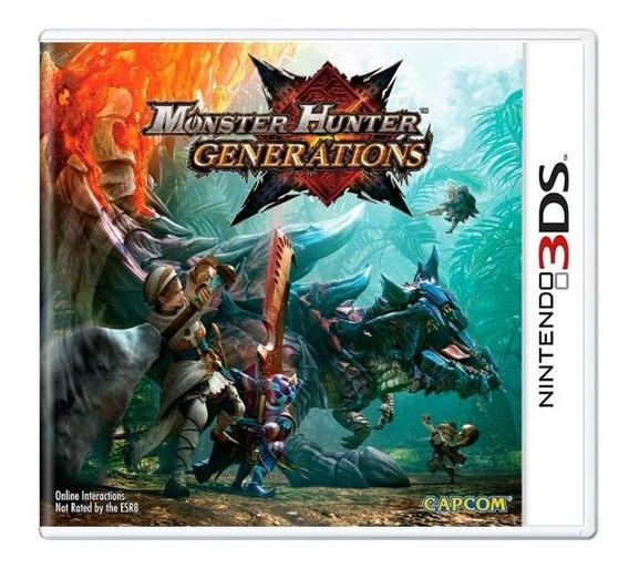 Jogo Monster Hunter Generations - 3ds