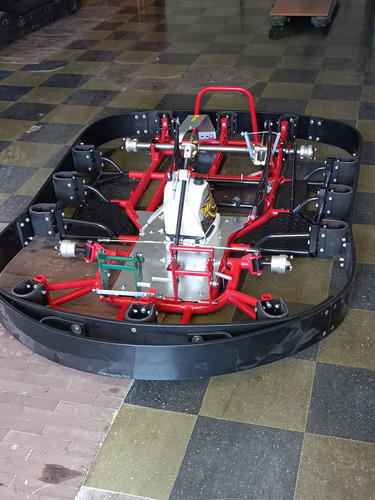Imagem 1 de 12 de Lote 20 Kart Indoor Chassi Mini E Motor Honda Gx270 9hp + Pç