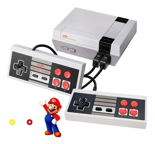 Imagen 1 de 10 de Consola De Juego Retro Nes Av C/500 Juegos Level Up