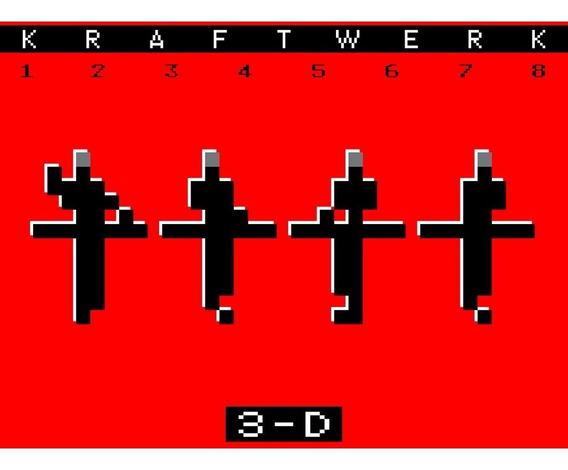 Kraftwerk 3-d: The Catalogue Vinilo Doble 180 Gr Nuevo Impor