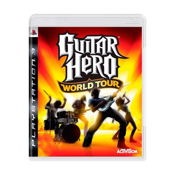 Guitar Hero World Tour Ps3 Mídia Física Pronta Entrega