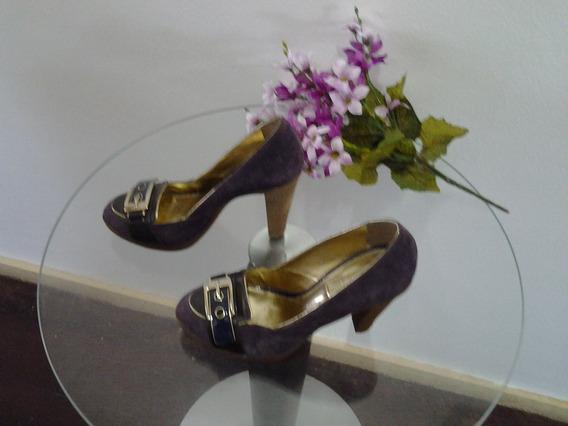 Sapato Feminino Seminovo Dumond Número 34