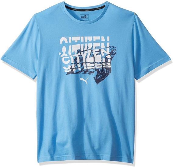 Playera Puma Hombre Manchester City Official Original