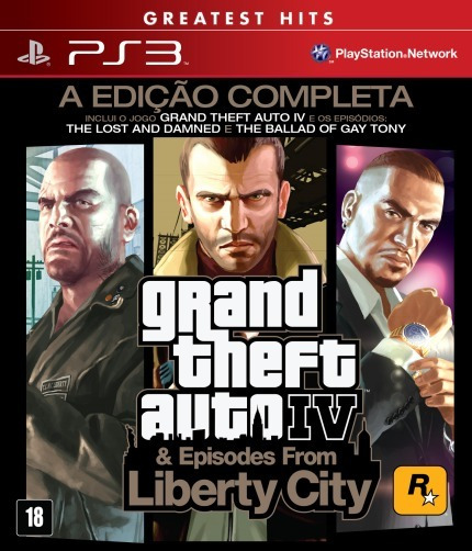 Jogo Gta Iv & Episodes From Liberty City