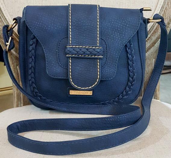 Cartera Trendy Azul