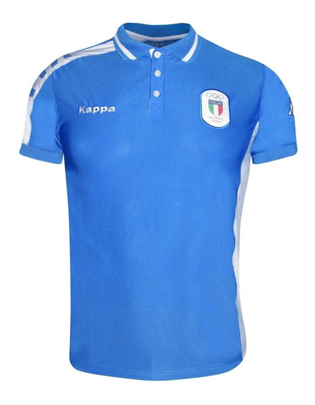 Playera Polo Casual Caballero M. Corta Italia Po-041 Kappa
