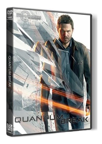 Quantum Break - Pc Dvd - Mídia Física - Frete 8 Reais
