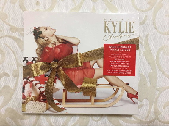 Cd /dvd Kylie Minogue Deluxe Christmas Com Luva Lacrado