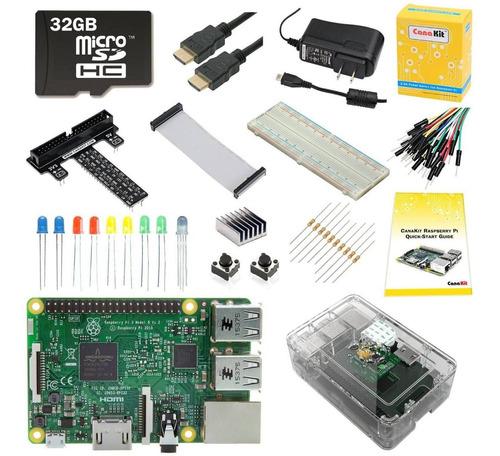 Raspberry Pi 3 Modelo B Canakit Ultimate Kit Pi 3 Accesorios