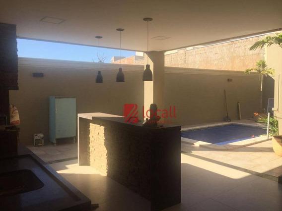Casa Residencial À Venda, Parque Residencial Damha Iv, São José Do Rio Preto. - Ca1085