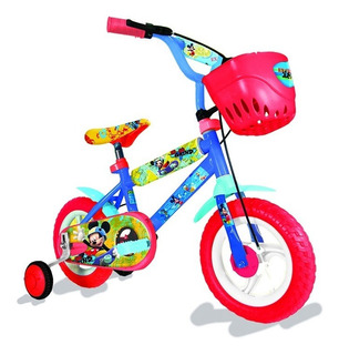 Bicicleta Disney Mickey Rodado 12