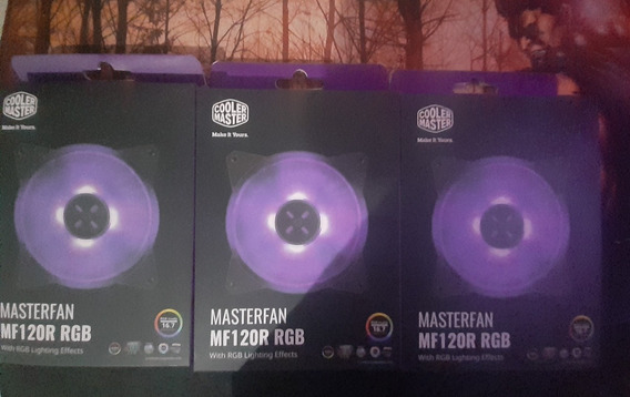 Ventoinha Cooler Master Masterfan Mf120r, Rgb