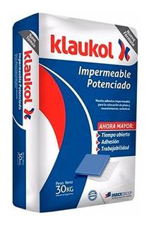Klaukol Impermeable 30 Kg Pegamento Adhesivo P/ Ceramica-16