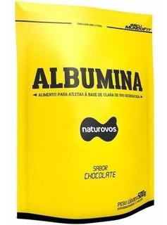 Albumina Pura Refil - 500g Natural - Naturovos