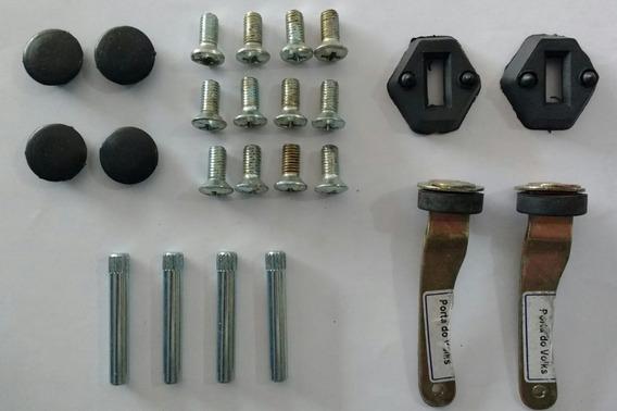 Kit Fusca - Limitador De Porta + Pino + Acessórios