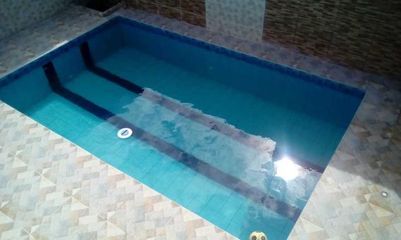Casa Com Piscina Na Praia Ref: 7756 C