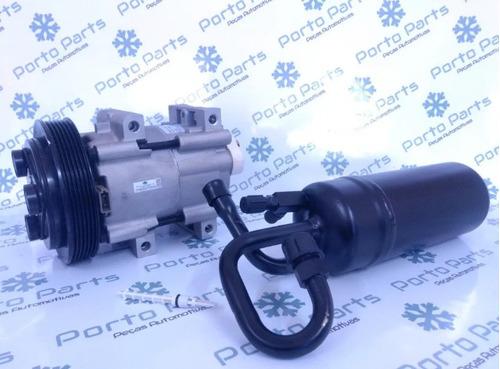 Compressor Ar Cond Ranger 2.5 6pk Válvula Caneta E Filtro