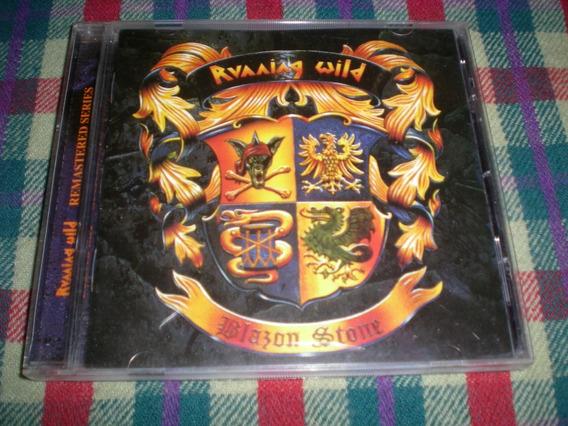 Running Wild / Blazon Stone Sello Nems 2000 Cp3