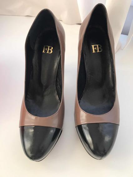 Zapatos Febo De Cuero Nuevos Numero 38