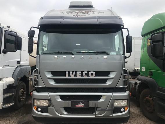 Iveco Stralis 380 - 2012 - 6x2 - Teto Alto - Consorcio