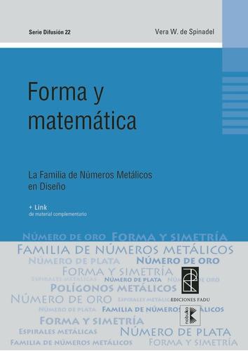 Imagen 1 de 2 de Forma Y Matematica I
