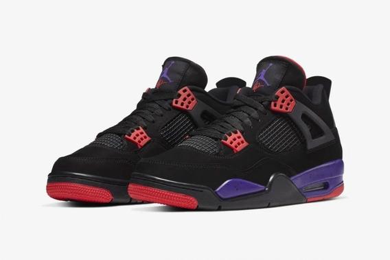 Air Jordan Retro 4 Raptors.