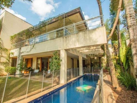Casa Com 4 Dormitórios À Venda, 1115 M² Por R$ 11.000.000,00 - Cidade Jardim - São Paulo/sp - Ca1339