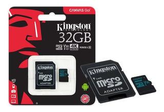 Cartao De Memoria Classe 10 Kingston Sdcg2 32gb Micro Sdhc 3