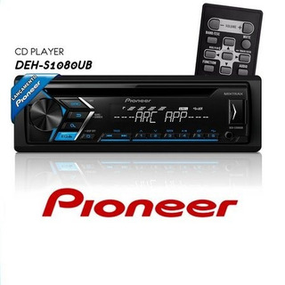 Cd Player Automotivo Pioneer Deh-s1080ub 1 Din Usb Aux Rca