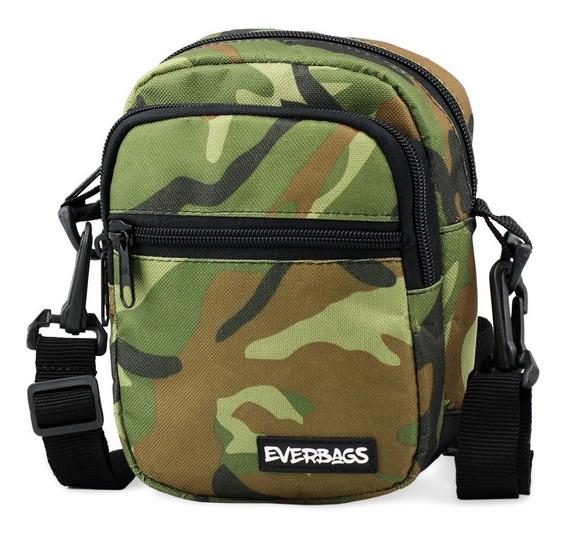 Shoulder Bag Camuflada Everbags Bolsa Tira Colo Necessaire