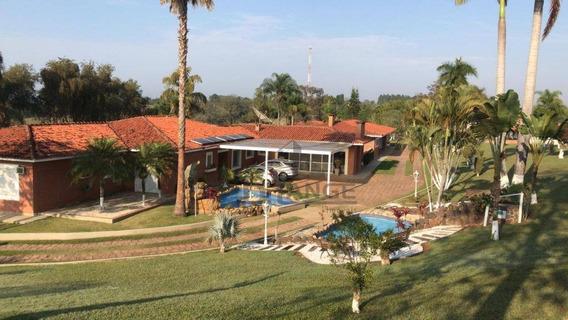 Sítio Com 5 Dormitórios À Venda, 145200 M² Por R$ 4.000.000 - Santa Adelaide - Tatuí/sp - Si0053