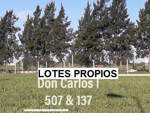 Venta Lotes Altos Don Carlos I, Escritura. 507 Y 137