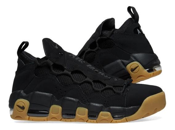 Tênis Nike Air More Money Black Gum Imediato.