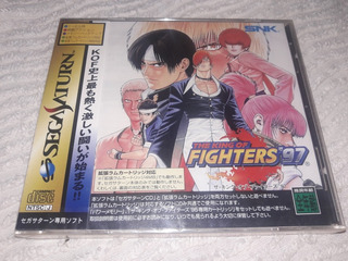 King Of Figter 97 Sellado Sega Saturn Original Japones